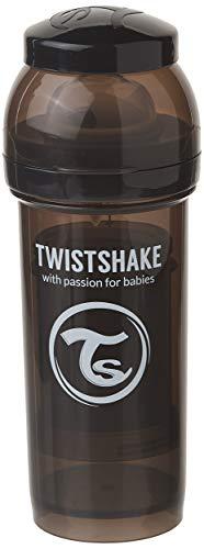 Twistshake - Biberón anticólico tetina silicona