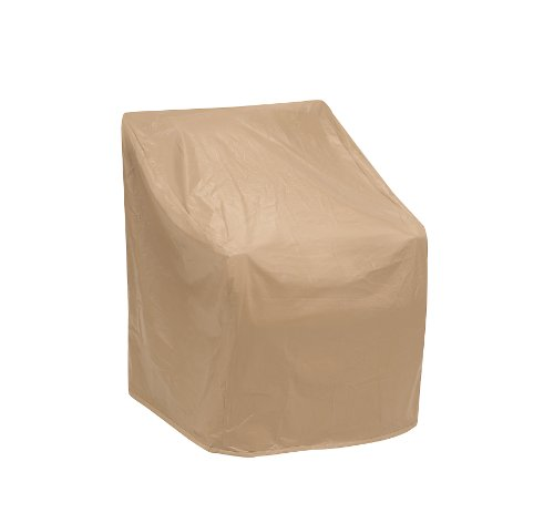 Protective Covers Weatherproof Wicker Chair Cover, Regular, Tan , 35' W x 35' D x 35' H - 1123-TN