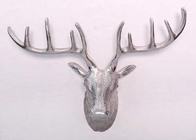 Designers Crafts Aluminium Reindeer Wall Art Sculpture Home Décor Wal Hanging