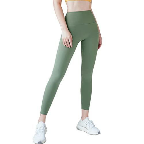 QTJY Pantalones de Yoga sin Costuras de Cintura Alta Leggings Deportivos para Mujer Pantalones Deportivos para Correr Pantalones Deportivos cómodos y Transpirables G XL