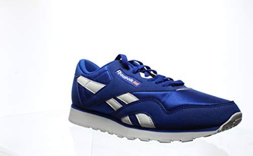 Reebok Mens Classic Nylon Blue Running Shoes Size 7