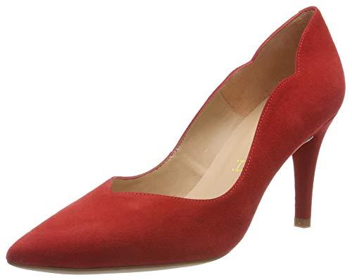 Unisa Tornos_KS, Zapatos de Tacón Mujer, Rojo (Passion Passion), 40 EU