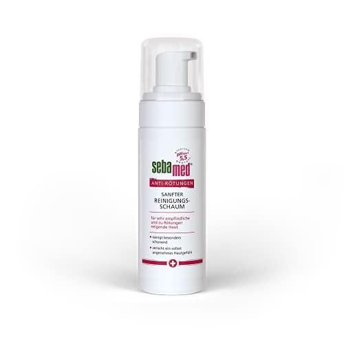 Sebamed Anti-Rötungen Sanfter Reinigungsschaum, bei Rosacea, mindert Rötungen im Gesicht, als Rosacea Gesichtspflege geeignet, 150 ml