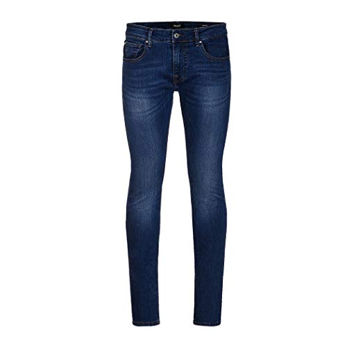 Guess Jeans heren Moda broek Super Skinny Pants Boy Miami M83AN1D37M0 basiskleur Blauw maat 38 = 52