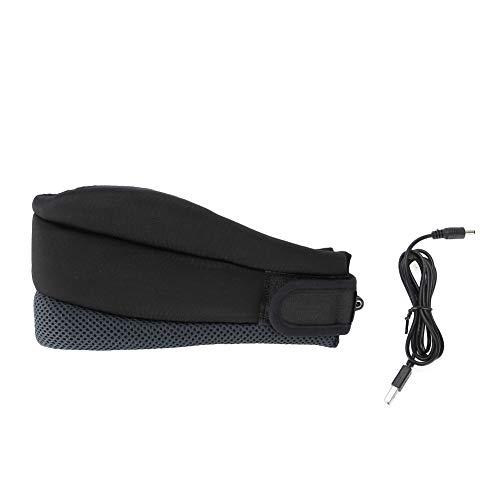 FAMKIT Hamaca de cuello con dispositivo de tracción cervical, soporte de cuello suave que se puede utilizar durante el sueño, cuello y hombro alivio del dolor