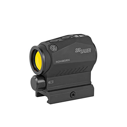 Sig Sauer SOR52101 Romeo5 2MOA Compact Red Dot Sight 1x20mm with Picatinny Mount , black