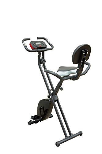 Rakon Exercise Bike Indoor Cycling Bike Folding Fitness Bike for Home Workout