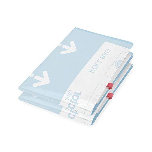 Compactor Set de 2 bolsas de Compresión Al Vacío Viaje, Transparente, Tamaño S, RAN4291