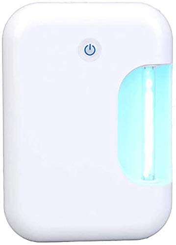 UVsterilisator, kiemdodende lamp ontgeuren Multi-Function desinfectie lamp, Kledingkast schoenenkast Toy Room Cleaning (sterilisatie tarief van 99,9%) / (Kleur: wit) XIUYU (Color : White)