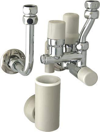 SYR Sicherheitsgruppe 6 bar DN15 Typ 324 für Trinkwassererwärmer inkl. Druckminderer und Rückflussverhinderer, verchromt