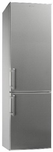Smeg CF36XPNF Libera installazione 321L A+ Acciaio inossidabile frigorifero con congelatore