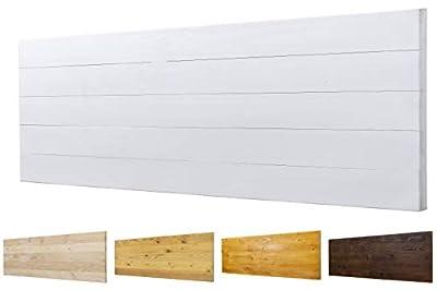 Color: Blanco. Medidas: 145 cm de largo y 60 cm de ancho. Para camas de 110 cm , 135 cm 🌲LOS MATERIALES DE NUESTROS PRODUCTOS 🌲: Nuestros productos son fabricados con madera nueva maciza de pino de 1ª calidad. 🌲DECORACIÓN INIGUALABLE🌲: Con los palets...