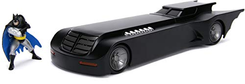 DC Comics 1:24 Batman Animated Series Batmobile Die-cast Car with 2.75