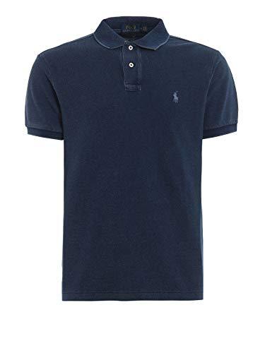 Ralph Lauren Luxury Fashion Herren 710680784004 Blau Baumwolle Poloshirt | Jahreszeit Outlet