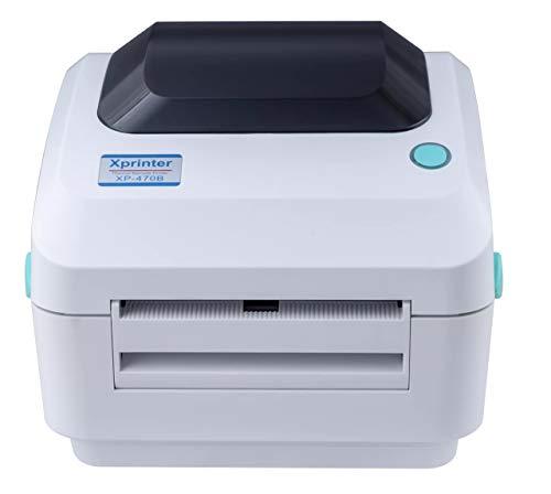 XP-470B Thermal Thermodirekt Drucker Etikettendrucker Label Printer (USB+LAN)
