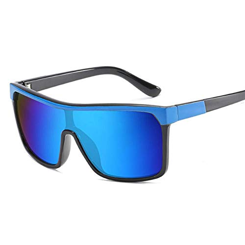 YXDEW Gafas de Sol Gafas Hombres Mujeres Sport Driving Cycle Ride vidrios del Ojo de protección UV,Gafas (Color : Blue)