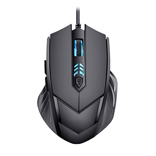 Silent Frosted Ergonomics 2400dpi Adjustment USB 6D Wired Optical Computer Gaming Mouse Mice