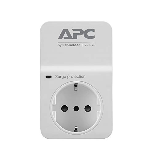 APC Essential SurgeArrest 1 presa, 230V, Italia, Bianco