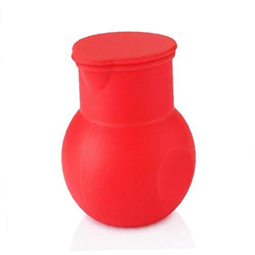 Aisoway Silikon-Schokoladen-Melting Pot Mikrowelle Buttermilch Sauce Schmelzgießabschnitt Backen-Werkzeuge