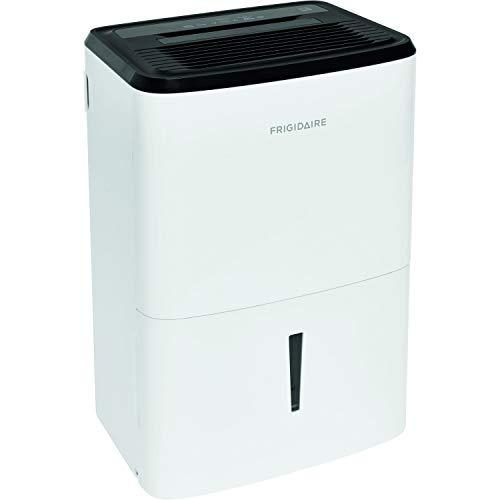 Frigidaire, White 35-Pint Dehumidifier with Effortless Humidity...