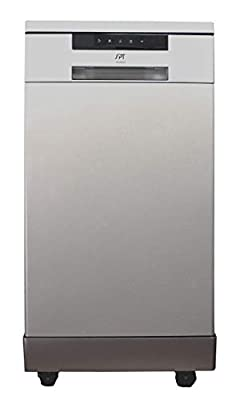 SD-9263SS: 18? Energy Star Portable Dishwasher – Stainless Steel