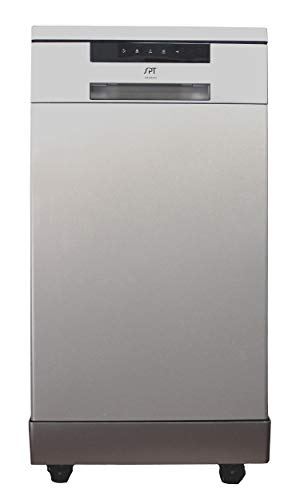 SPT SD-9263SSA Stainless Steel 18″ Energy Star Portable Dishwasher