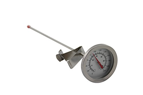 The Weekend Brewer Homebrew Kettle Clip On Thermometer, ClipTherm1