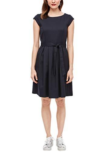 s.Oliver Damen 120.12.003.20.200.2028516 Kleid für besondere Anlässe, Navy, 46