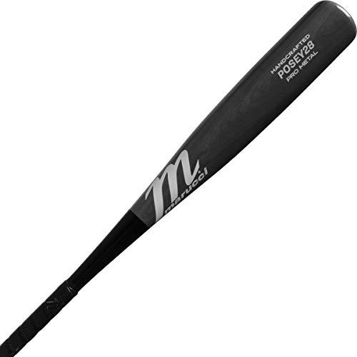 Marucci Sports - Posey28 Pro Metal, Posey 28 SL -10 - Smoke (MSBP2810S-29/19)
