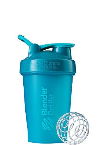 BlenderBottle Classic Loop Shaker mit BlenderBall, optimal geeignet als Eiweiß Shaker, Protein Shaker, Wasserflasche, Trinkflasche, BPA frei, skaliert bis 400 ml, 590 ml, teal