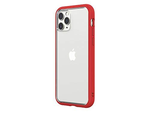 RhinoShield Coque Mod NX Compatible avec [iPhone 11 Pro] - Personnalisable - Rouge