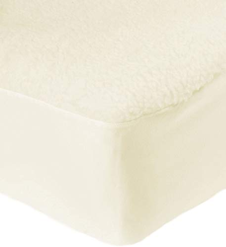Nights Online Luxurious Thermal Fleece Underblanket, Deep Fitted Mattress Protector (4ft)