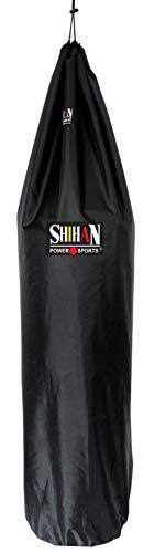 Shihan Power Sports Boxing Bag Cover Waterproof 5-6ft x 24inch Diameter Large Bag Punch Bag Outdoor Protection for Your Boxing Bag Ideal for freestanding Strike Bags