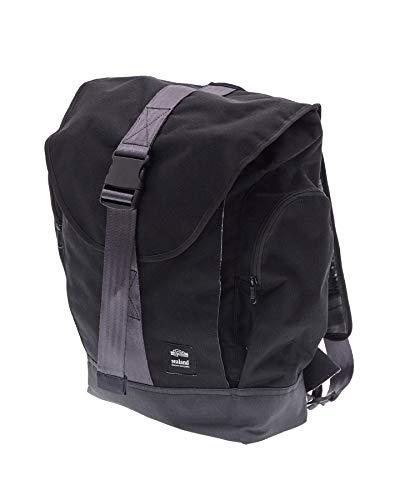 Sealand RoamerRucksack, Umweltfreundliche und handgefertigte Wasserabweisende Backpack aus Canvas -20L- Schwarz