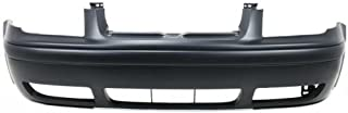 Perfect Fit Group V232P - Jetta Front Bumper Cover, Primed, W/ Molding