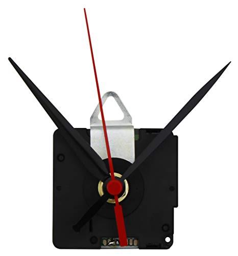 MC POWER - Funk Quarzuhrwerk | FQU-5005 | inkl. 3 versch. Metall-Zeigersätzen, springend | stellt automatisch die Zeit ein