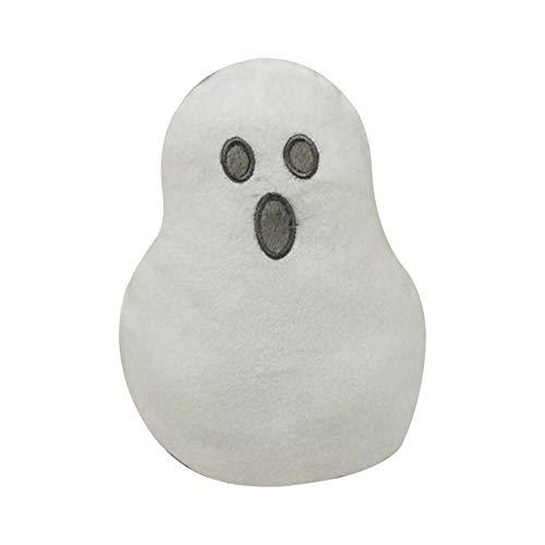 rosemaryrose Friedhof Der Kuscheltiere Geist Creepy Jelly Slime -Halloween Plüschtier Doppelseiten Flip Ghost Stuffed-Doll