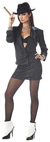 Women's Sexy Mafia Princess Costume Large