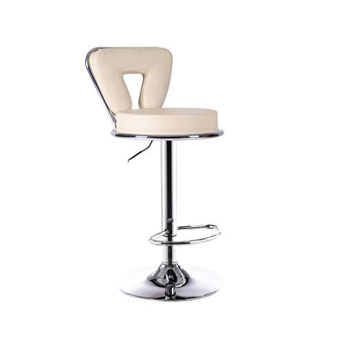 XZ15 Europese rotatie hoge kruk, barkruk, bar cafe PU materiaal zithoogte 60-80 cm multicolor