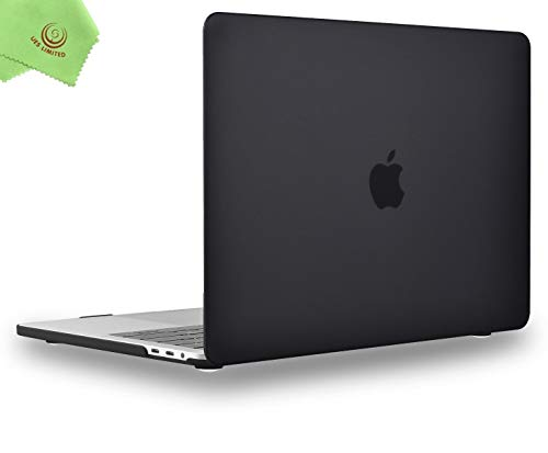 UESWILL MacBook Pro 13 inch Case 2020 2019 2018 2017 2016 Release A2338 M1 A2289 A2251 A2159 A1989 A1706 A1708, Matte Hard Case Compatible with MacBook Pro 13 with USB-C Touch Bar M1 chip, Black