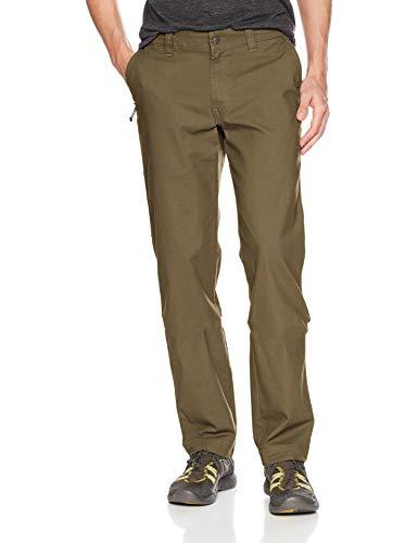 Columbia Herren Flex ROC Comfort Stretch Casual Pant Freizeithosen, New Olive, 30W / 30L