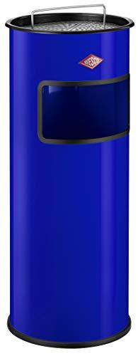 Wesco 150 801-53 Cendrier 50 l avec tamis (Bleu)