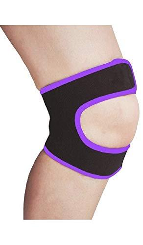 LTG PRO - Rodillera de neopreno, con correa para la rótula, para lesiones deportivas y tendones de artritis
