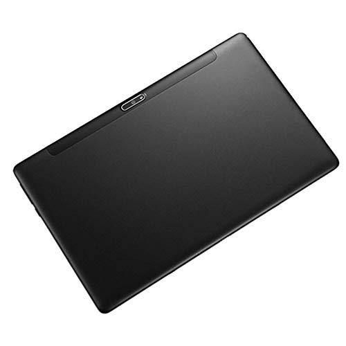 Tamkyo Tablet PC, Procesador Octa-Core 4G la Red Puede Flashear RáPidamente la Memoria de 12 Pulgadas Tablet PC (32G, Enchufe de la EU, Negro)
