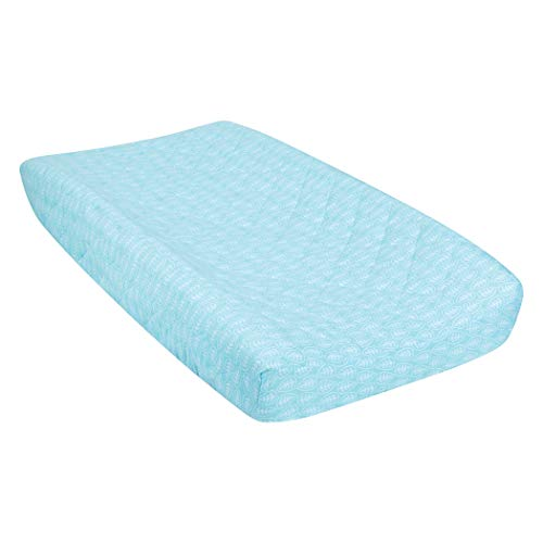 Trend Lab Quilted Jersey Changing Pad Cover, Leaves