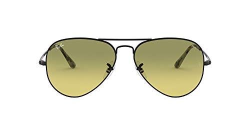 Ray-Ban 0RB3689 Gafas de sol, Black, 55 Unisex