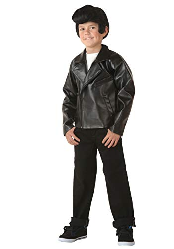 Kid's Grease T-Birds Jacket Costume Danny Costume Jacket - L Black