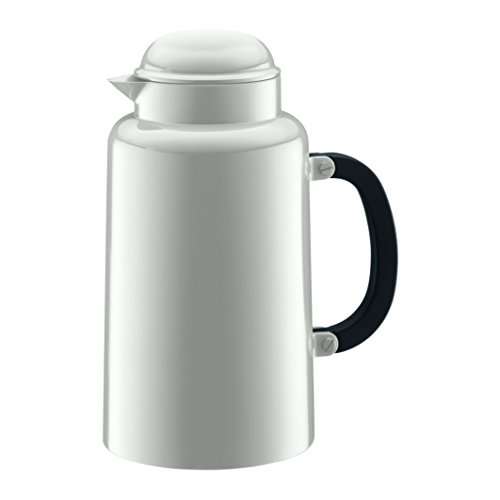 Bodum, Caraffa termica, 1 litro, Bianco (Weiß)