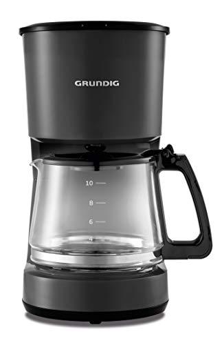 Grundig KM4620 Kaffemaschine, 900 W, 10 Tassen (1,25l), 1000, Kunststoff, Schwarz