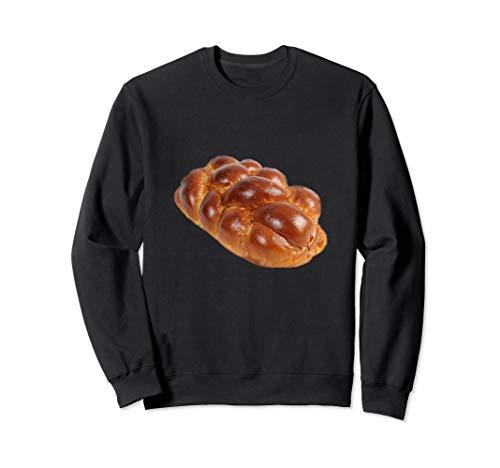 Challah Brot Schabbat Jüdisches Weihnachtsessen Sweatshirt